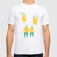 Superdoodle Mens Fitted Tee Ash Grey SMALL
