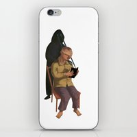 Horor Fiction iPhone & iPod Skin