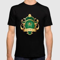 Medieval Fantasy | Ours is the truth SMALL Mens Fitted Tee Black