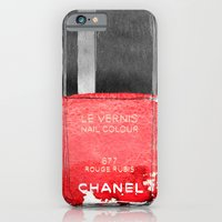 iPhone Cases featuring Red Love by Sara Eshak