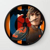 Train A Dragon Wall Clock