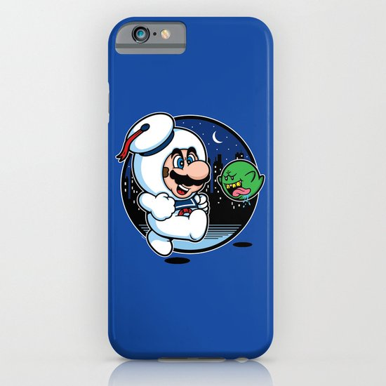 Super Marshmallow Bros. iPhone & iPod Case