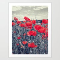 field of love Art Print
