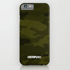 Modern Woodgrain Camouflage / Greenwoods DPM iPhone 6 Slim Case