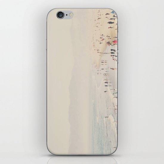 standing on the edge of the world ...  iPhone & iPod Skin