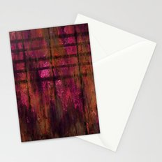 Lined Rainbow Rusted Metal Look Stationery Cards