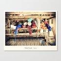 Textile Series - Yarn Canvas Print