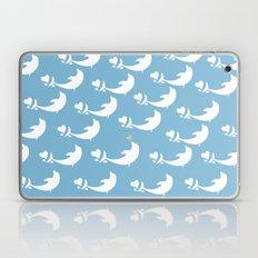 Joyful Dolphin Dancing in the Ocean Laptop & iPad Skin
