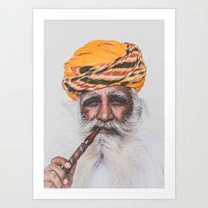 Jodhpur (colour) Art Print