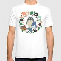 Troll Wreath  Mens Fitted Tee White SMALL