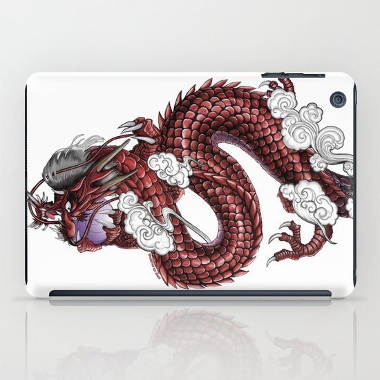 Japanese Dragon 竜 iPad Case