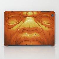 Olmeca II. (Gold) iPad Case