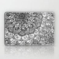 Laptop & iPad Skin featuring Shades Of Grey - Mono Fl… by Micklyn