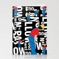 TYPE MAN Stationery Cards