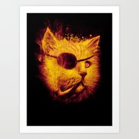 Irie Eye Art Print