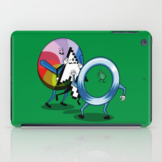 System bullies iPad Case