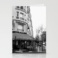 Parisian Cafe Stationery Cards