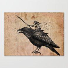Fairy Scout Canvas Print