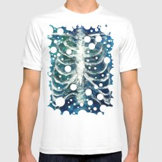 Ribs  Mens Fitted Tee White SMALL