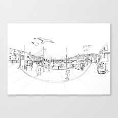 Brixham Canvas Print