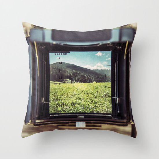 Medium Format Throw Pillow