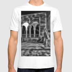 Electric Arches Mens Fitted Tee White SMALL