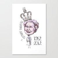 Diamond Jubilee Canvas Print
