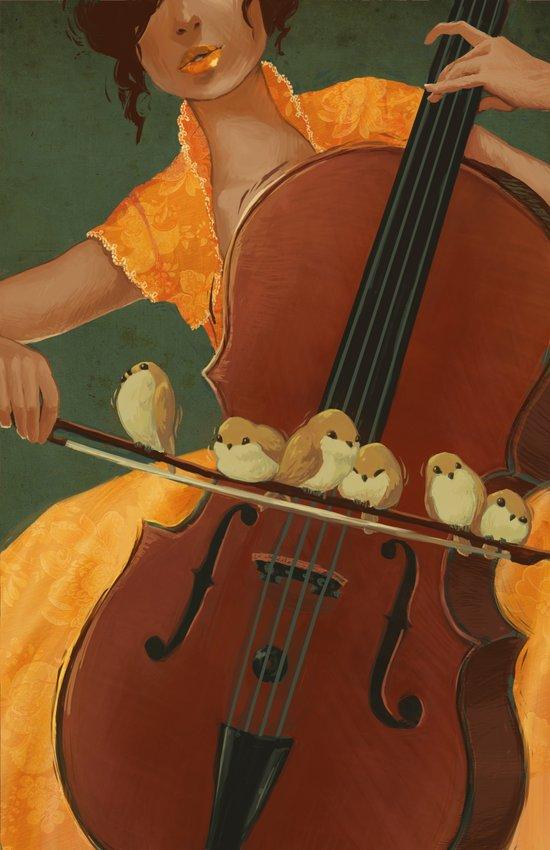 Birds on the Bow Art Print