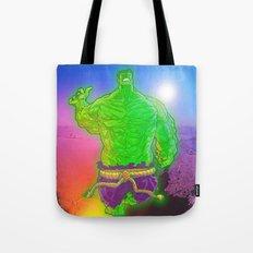 Incredible Hulk Tote Bag