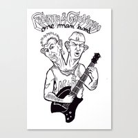 One man band Canvas Print