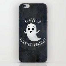 Have A Haunted Holiday iPhone & iPod Skin