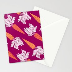 Carrots III Stationery Cards