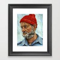 Bill Murray / Steve Ziss… Framed Art Print