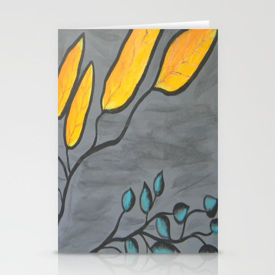 Leaves of Color Stationery Card