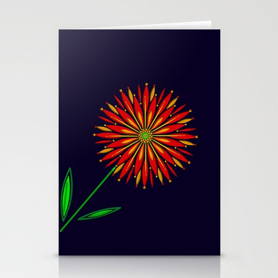 The Colors of Summer Stationery Card