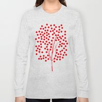 Tree of Life Red Long Sleeve T-shirt