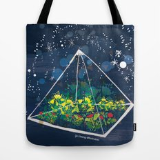 The Greenhouse at Night Tote Bag