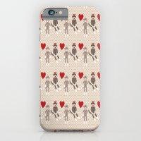 Sock Monkey Love iPhone 6 Slim Case