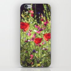 A floral spot on Earth iPhone & iPod Skin