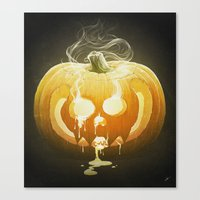 Pumpkin II. Canvas Print