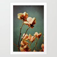 when there was spring Art Print