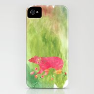 Baer  With Flowers I iPhone (4, 4s) Slim Case