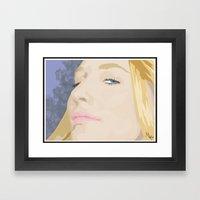Cate Blanchett Framed Art Print