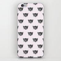 Polka Cat iPhone & iPod Skin