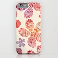 iPhone & iPod Case featuring Storied Flowers by Sandra Arduini