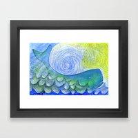 Healing Sounds Framed Art Print