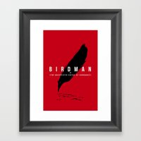It´s A Bird Framed Art Print