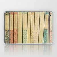 Old Books Laptop & iPad Skin