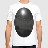 Moonbeaming Mens Fitted Tee White SMALL
