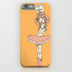 Girl in Skirt with Owl on Head by RonkyTonk iPhone 6s Slim Case